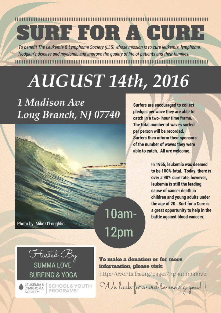 Surf for a Cure Poster copy