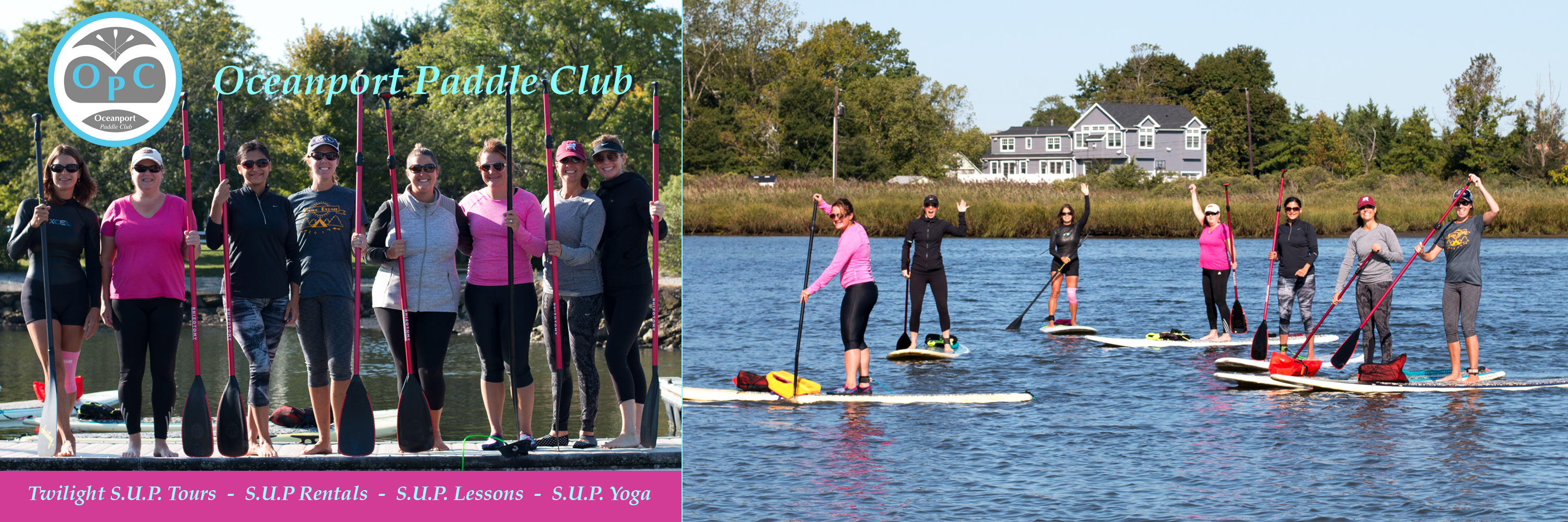 Stand Up Paddle Class, Rentals, Tours
