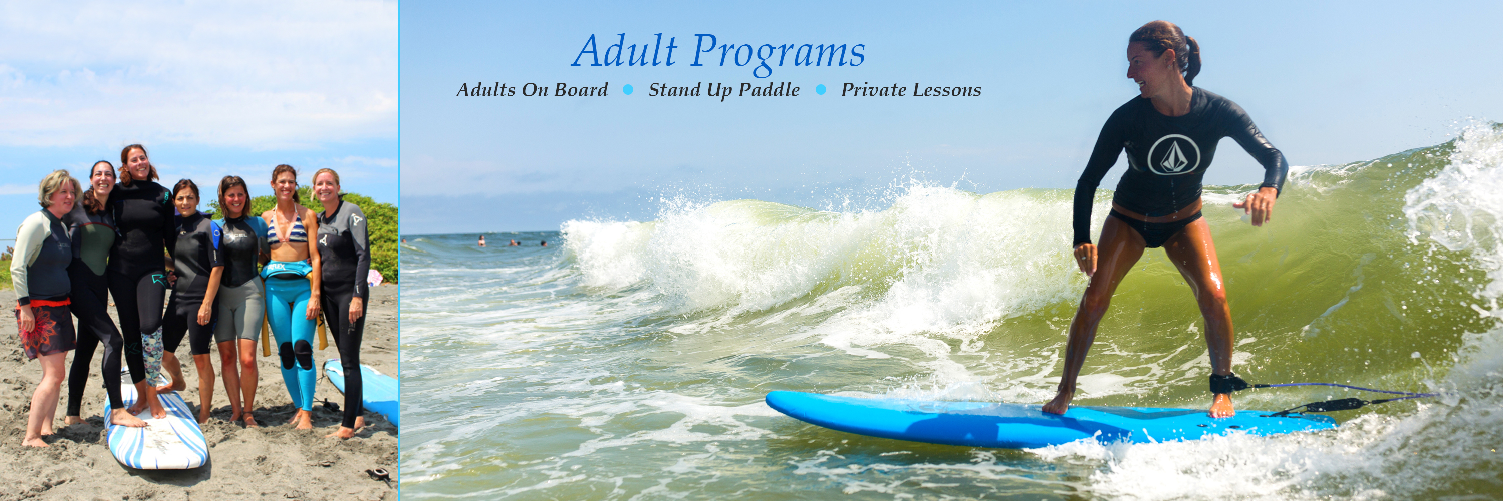 Adult Surf Programs