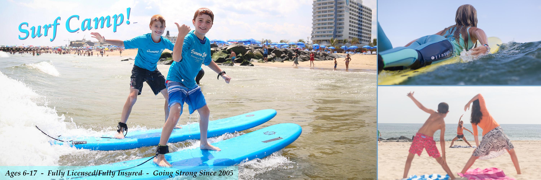 NJ Surf Camp