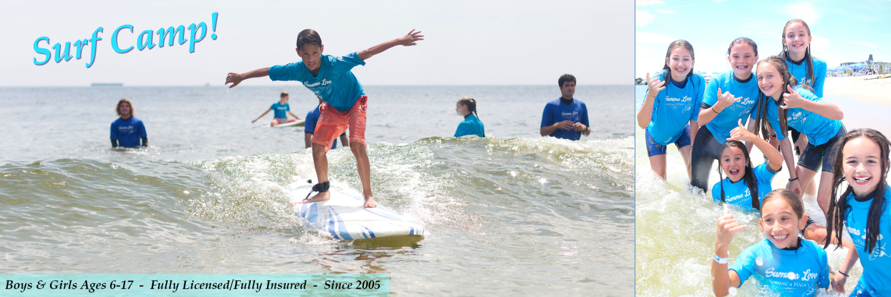 NJ Surf Camp, Surf School, Surf Lessons, Long Branch Surf Camp
